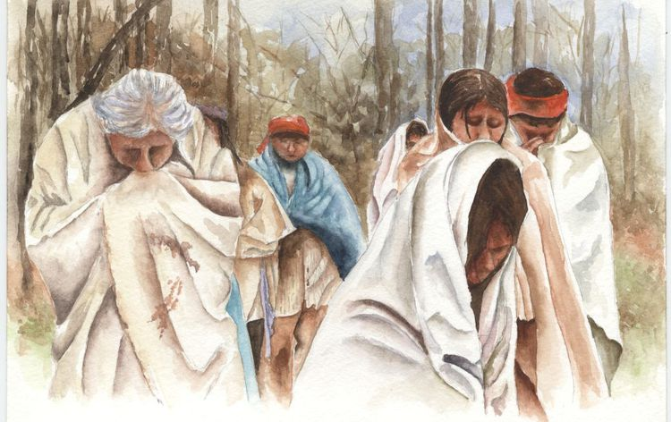 Trail of Tears art courtesy of nps.gov